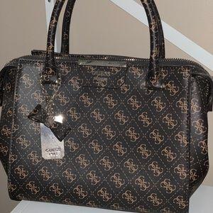 Original GUESS Logo Handbag with Strap